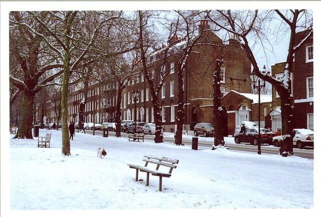 לונדון בחורף
