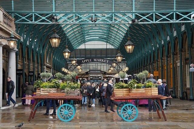 שווקים בלונדון