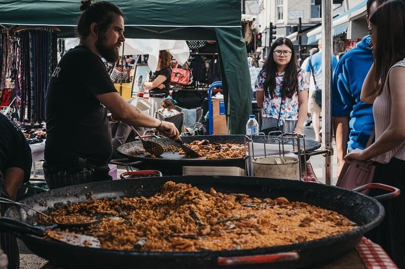 שוק פורטובלו -Portobello Market
