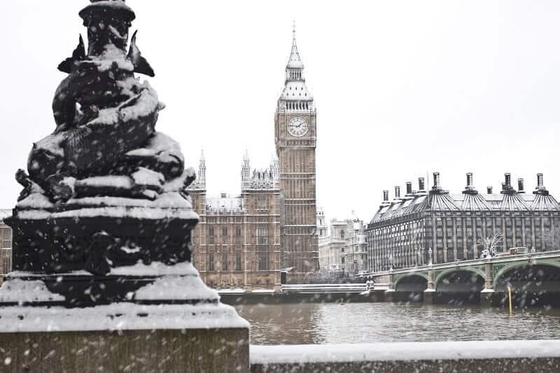 יום של שלג בלונדון